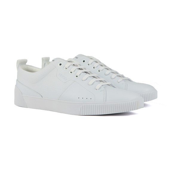 HUGO Mens White Zero Grain PLGR Trainer