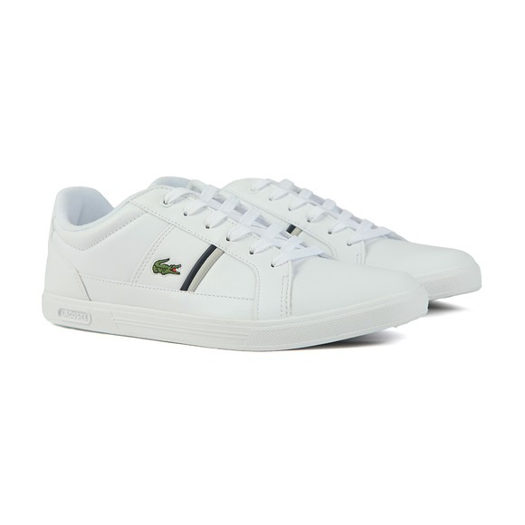 Lacoste Mens White Europa 0120 Trainer main image