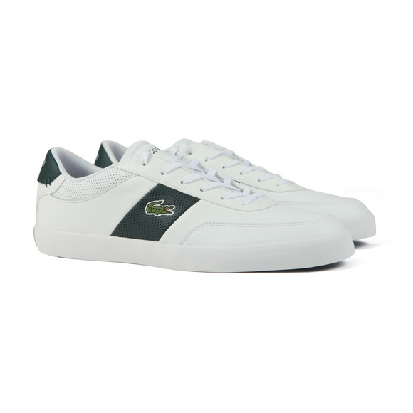Lacoste Mens White Court Master Trainer