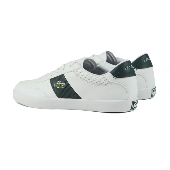 Lacoste Mens White Court Master Trainer main image