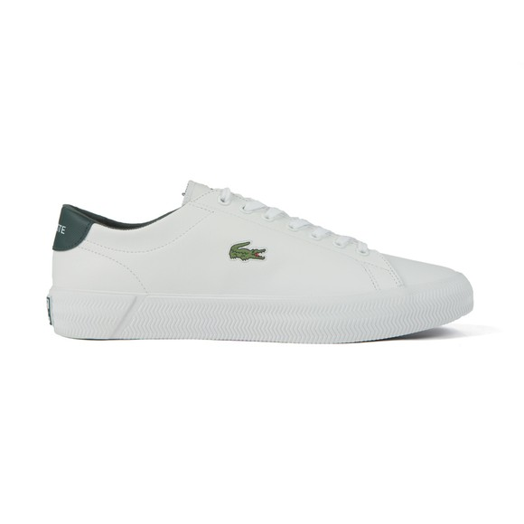 Lacoste Mens White Gripshot Trainer
