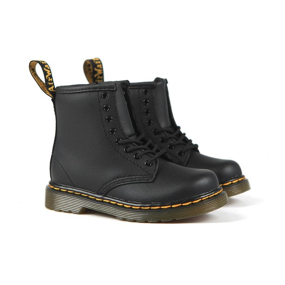 Dr. Martens Girls Black Softy 1460 Boot