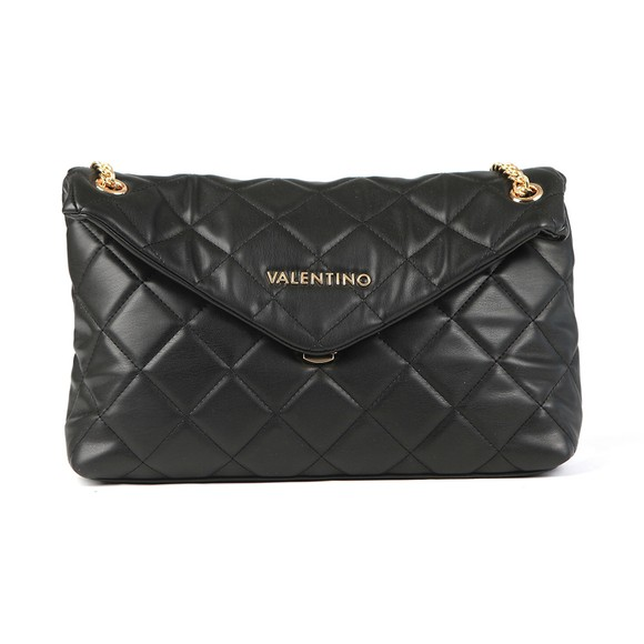 Valentino by Mario Womens Black Ocarina Large Satchel