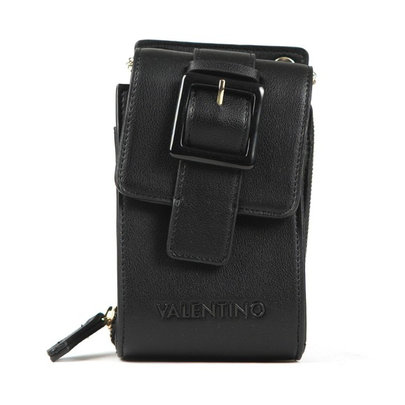 Valentino by Mario Womens Black Angelo Satchel