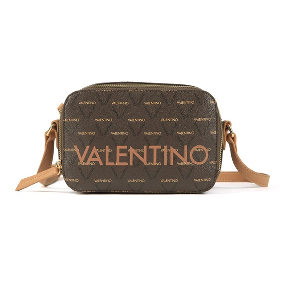 Valentino by Mario Womens Brown Liuto Haversack Bag