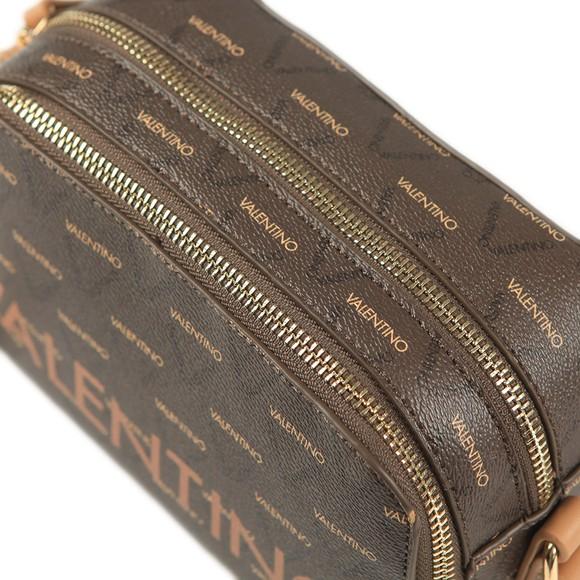 Valentino by Mario Womens Brown Liuto Haversack Bag main image