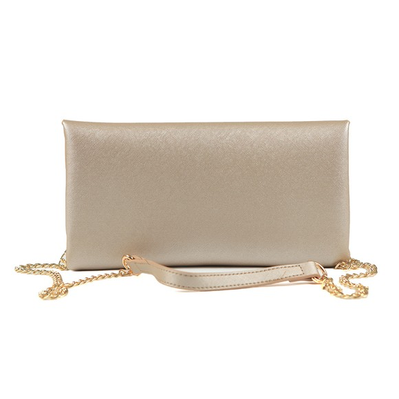 Valentino by Mario Womens Gold Appie Clutch Bag