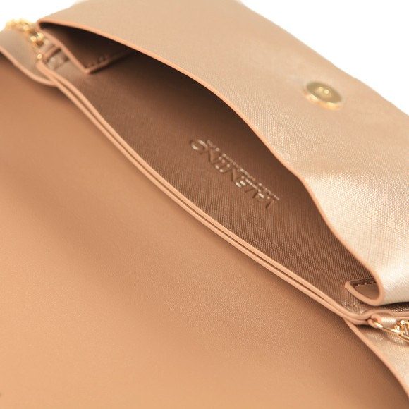 Valentino by Mario Womens Gold Appie Clutch Bag main image