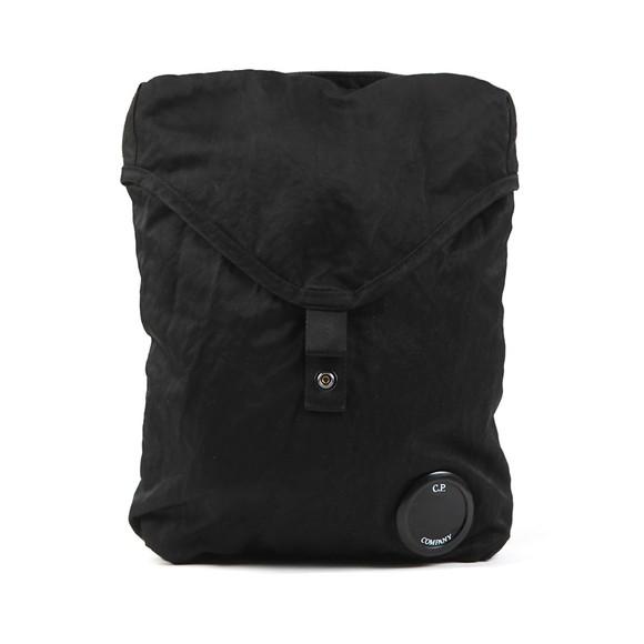 C.P. Company Mens Black Nylon Satin Man Bag