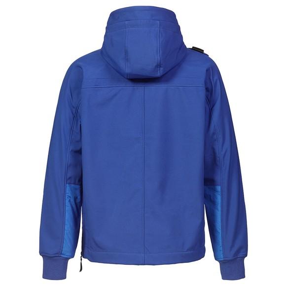 Ma.Strum Mens Vibrant Blue Overhead Softshell Jacket