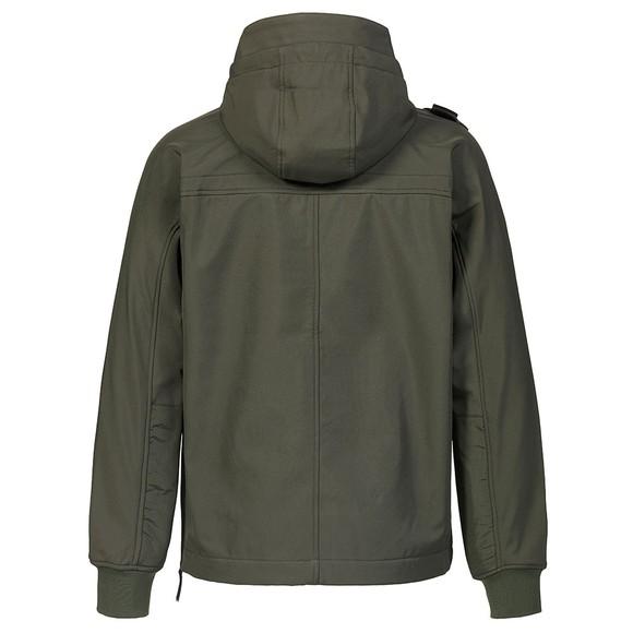 Ma.Strum Mens Green Overhead Softshell Jacket