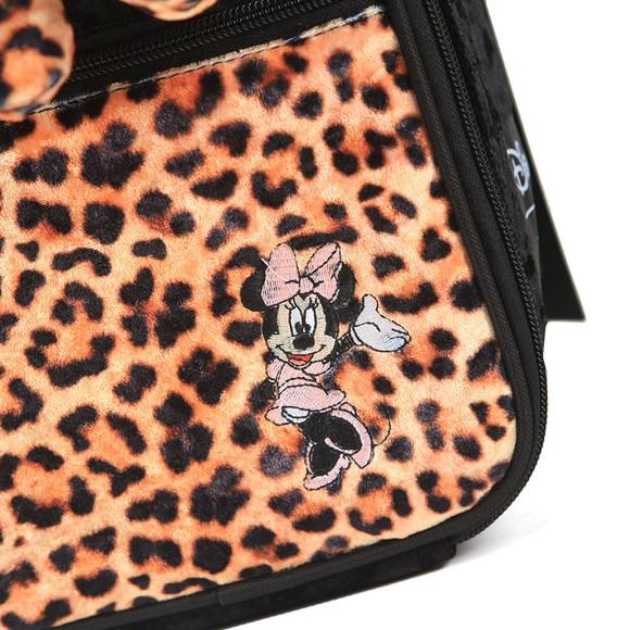 Hype Girls Black Minnie Leopard Lunchbox