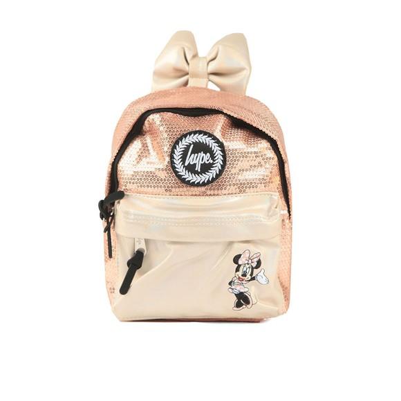 Hype Girls Pink Minnie Glam Mini Backpack
