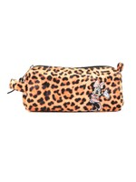 Minnie Leopard Pencil Case