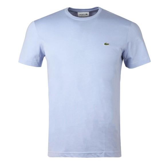 Lacoste Mens Purple TH2038 Plain T-Shirt