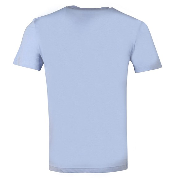 Lacoste Mens Purple TH2038 Plain T-Shirt main image