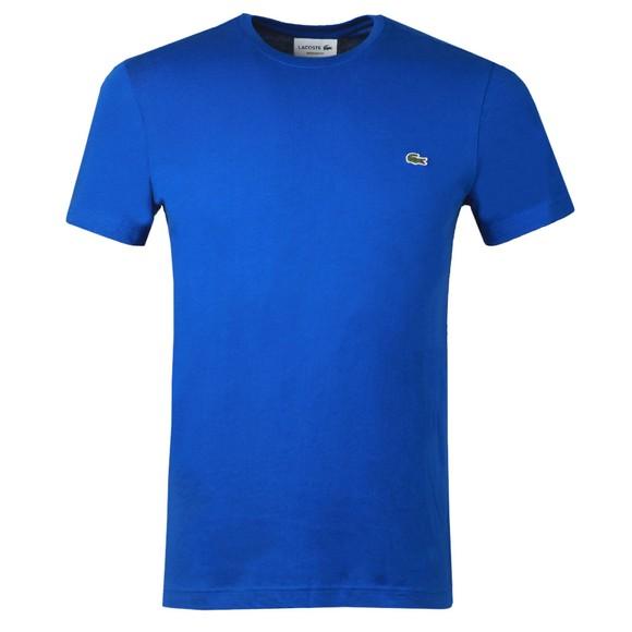 Lacoste Mens Blue TH2038 Plain T-Shirt