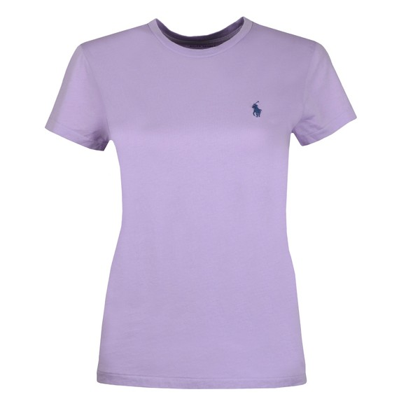 Polo Ralph Lauren Womens Purple Basic Crew T Shirt main image