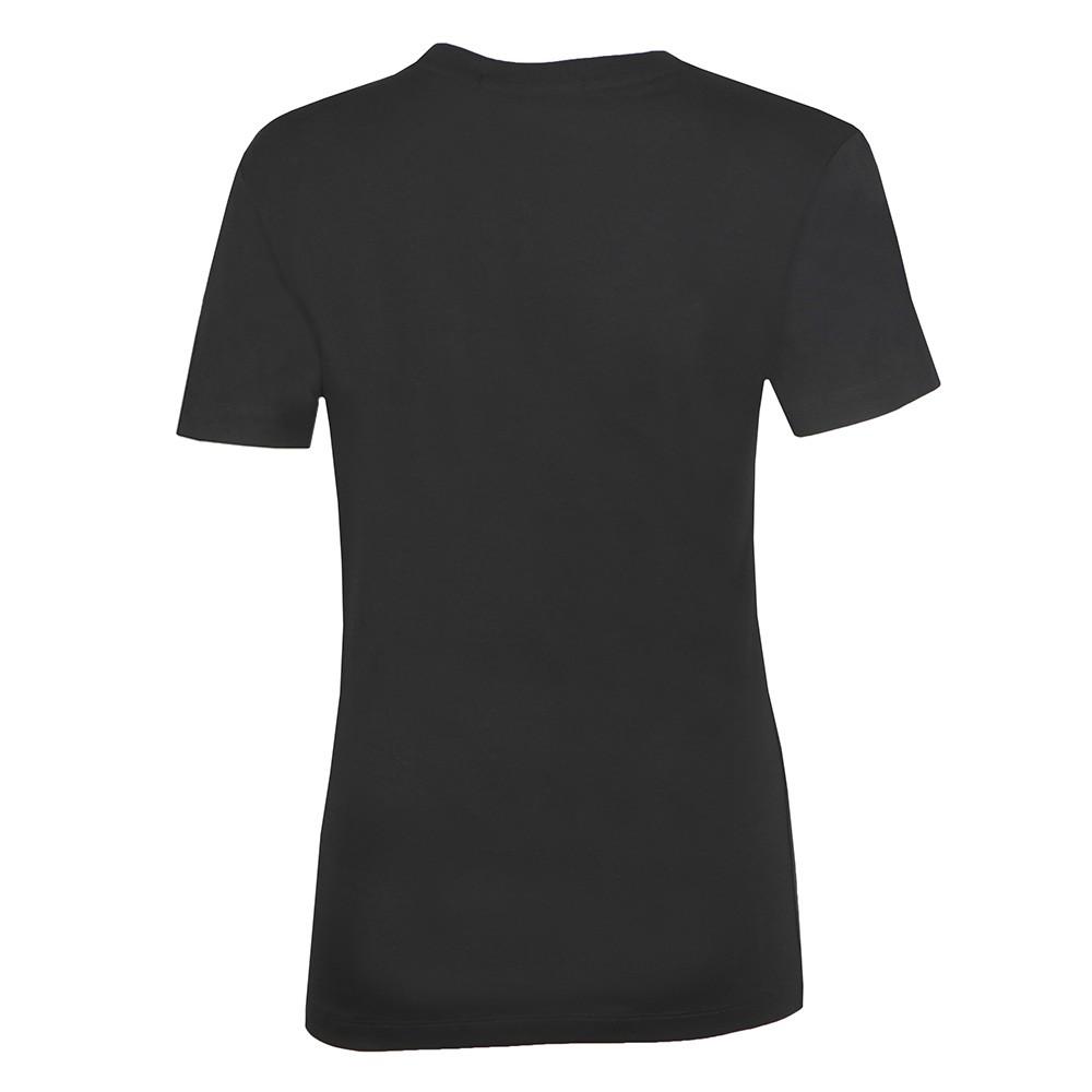 Iridescent Metallic Logo T Shirt main image