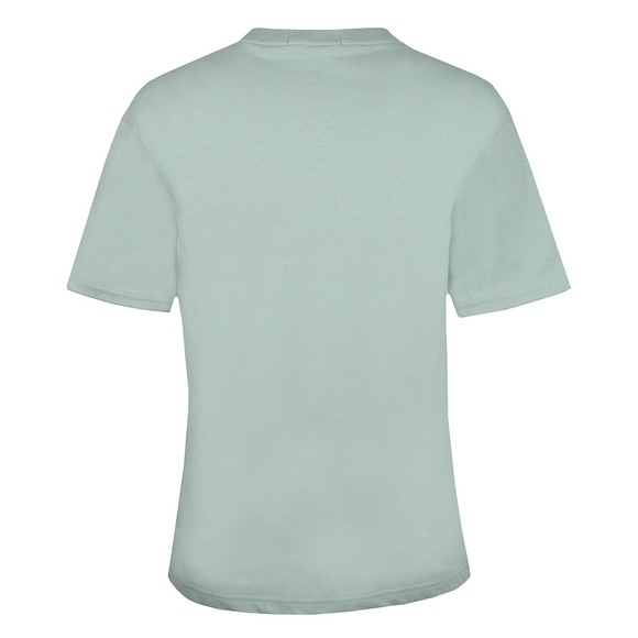 Fred Perry Womens Blue Embroidered T-Shirt main image