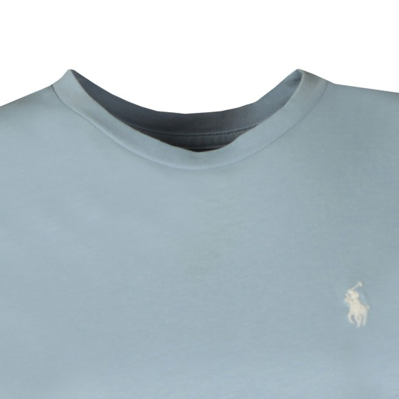 Polo Ralph Lauren Womens Blue Basic Crew T Shirt
