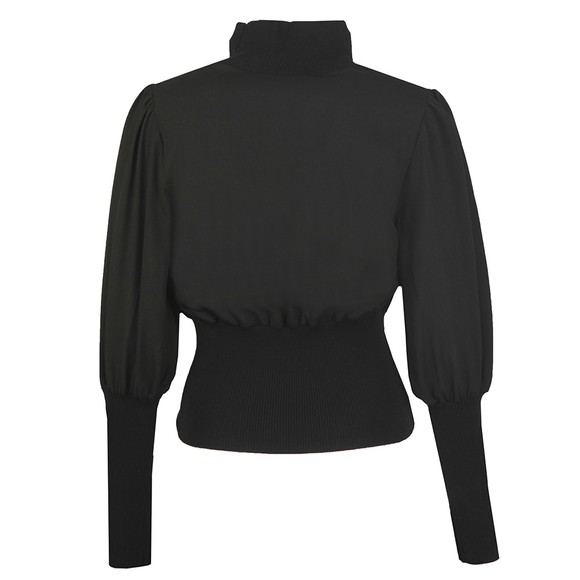 French Connection Womens Black Krista Knits High Neck Jumper main image