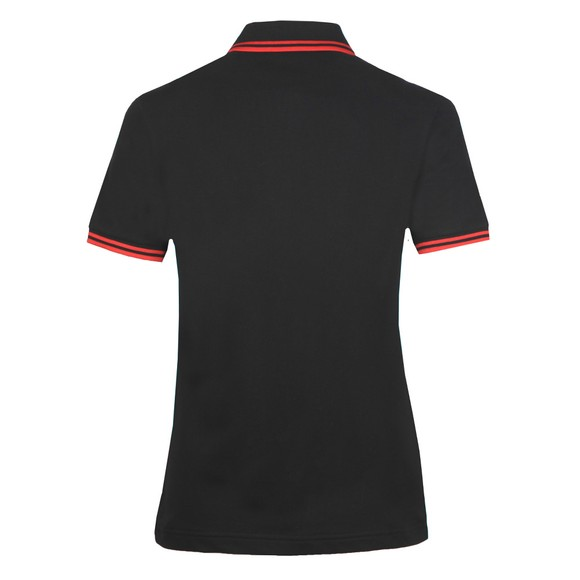 Fred Perry Womens Black Twin Tipped Polo Shirt  main image