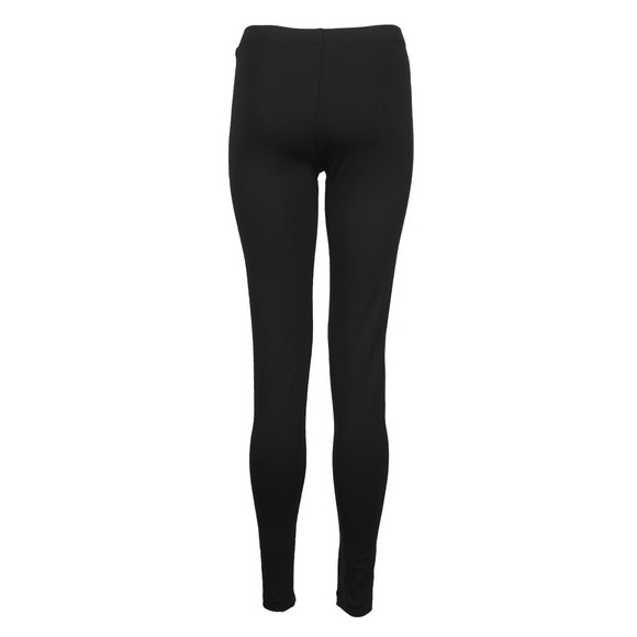 EA7 Emporio Armani Womens Black Side Logo Legging main image