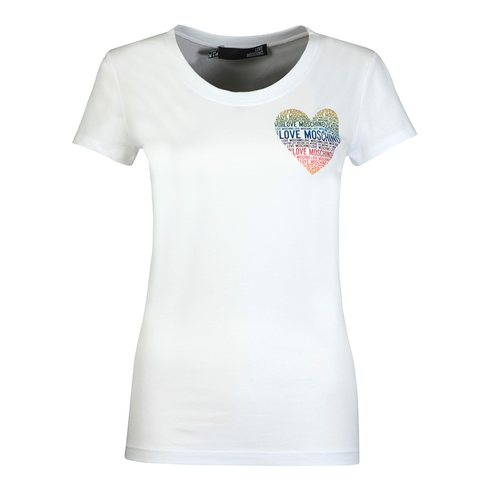 Rainbow Heart T Shirt main image