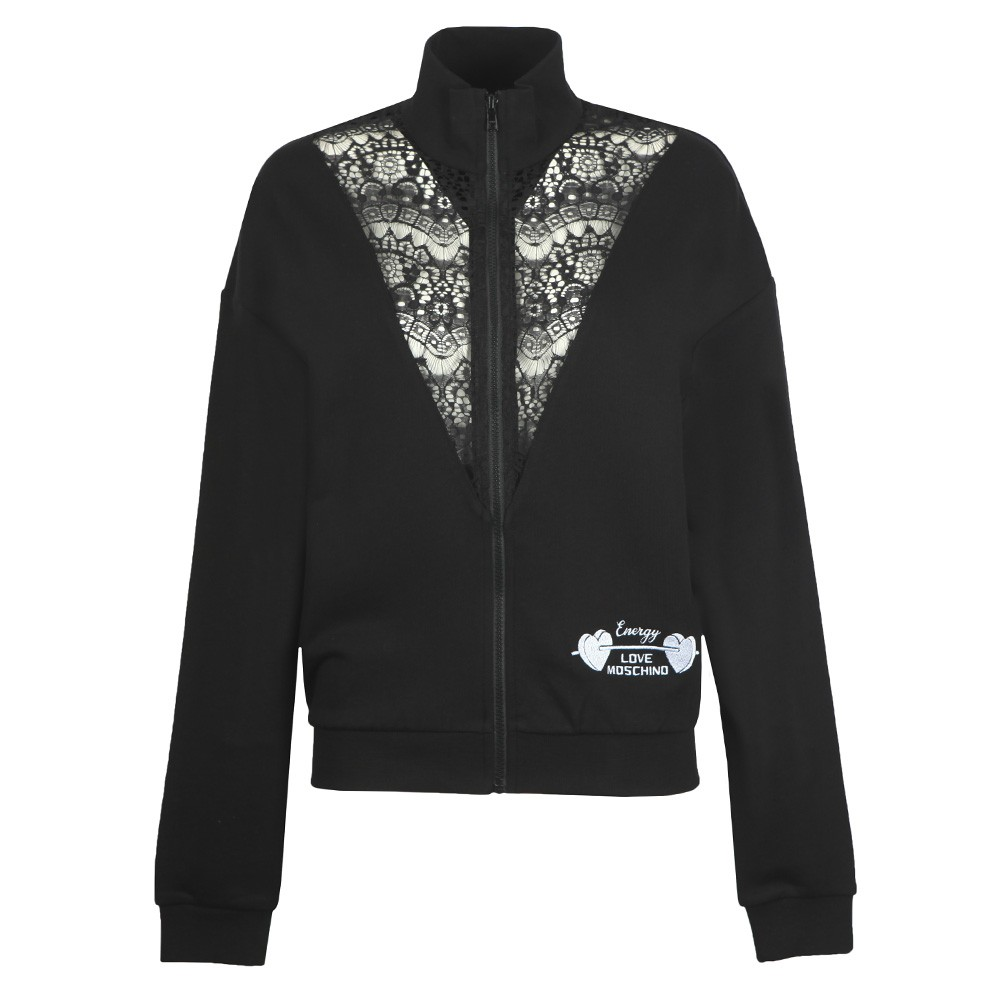Lace Detail Track Top main image