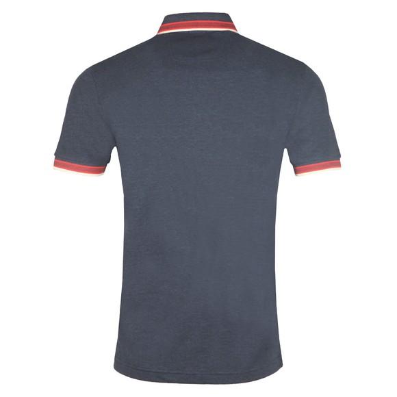 BOSS Mens Blue Athleisure Paddy Polo Shirt main image