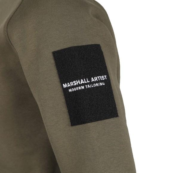 Marshall Artist Mens Green Raptor Crew Neck Sweatshirt
