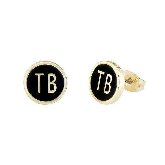 Ted Baker Womens Gold Dollsa Dolly Mix Stud Earring