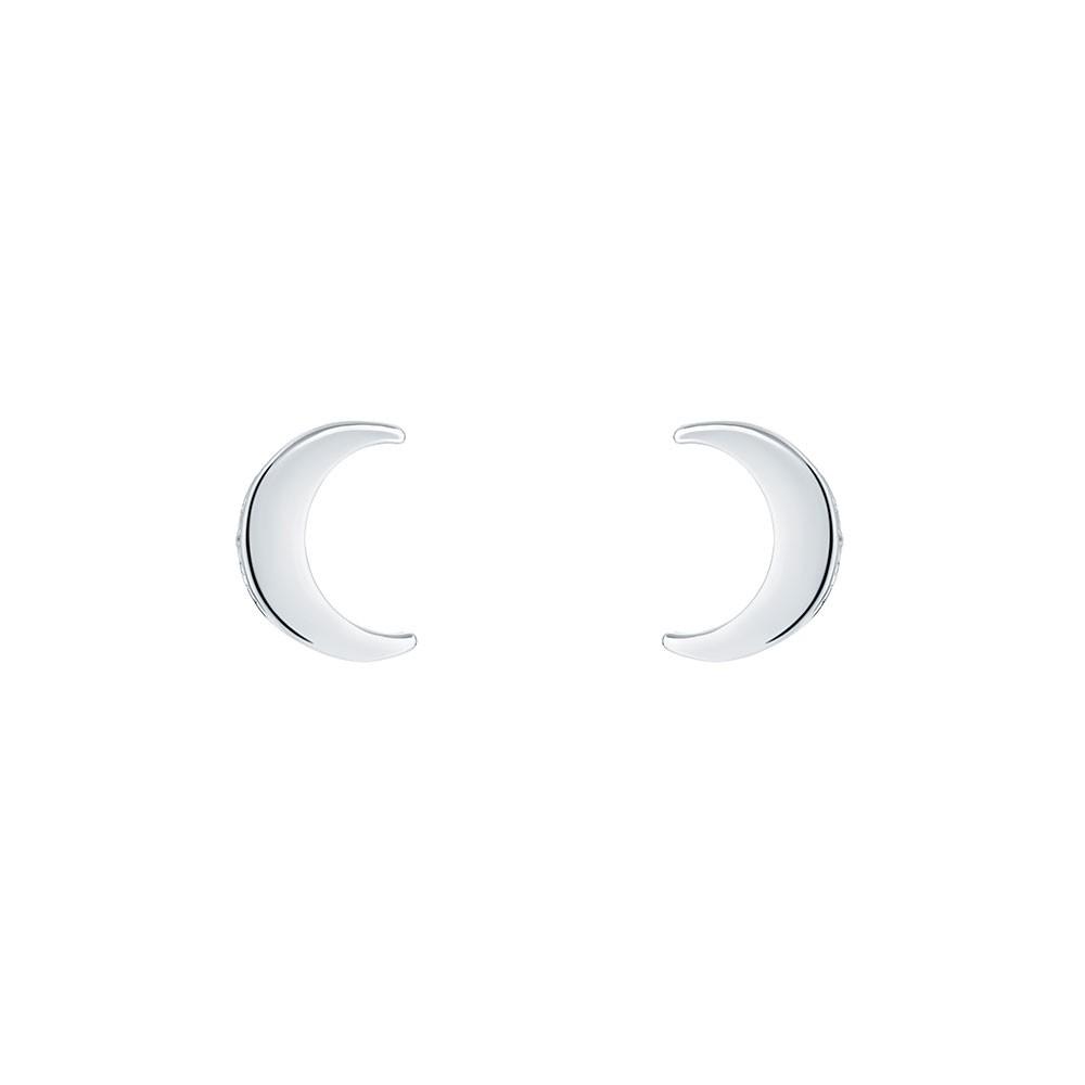 Marlyy Crescent Moon Stud Earring main image
