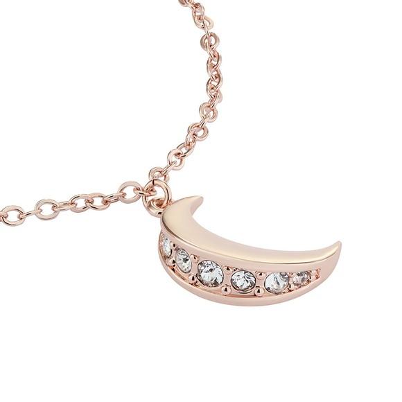 Ted Baker Womens Pink Marsaa Crescent Moon Bracelet main image