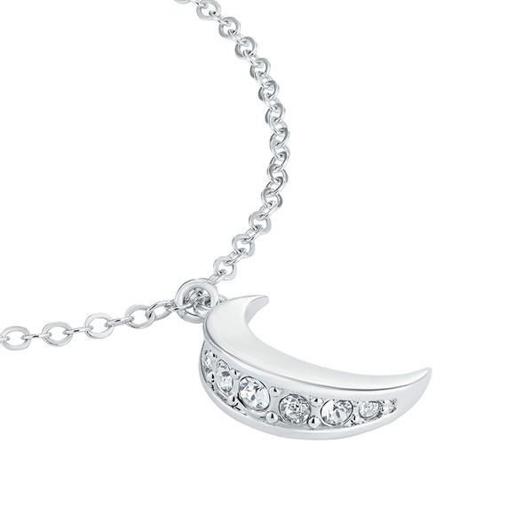 Ted Baker Womens Silver Marsaa Crescent Moon Bracelet main image
