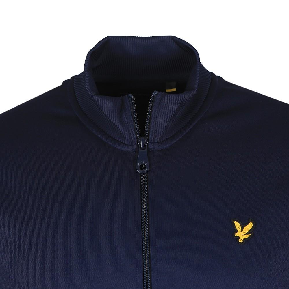 Geo Panel Zip Through Sweatshirt main image
