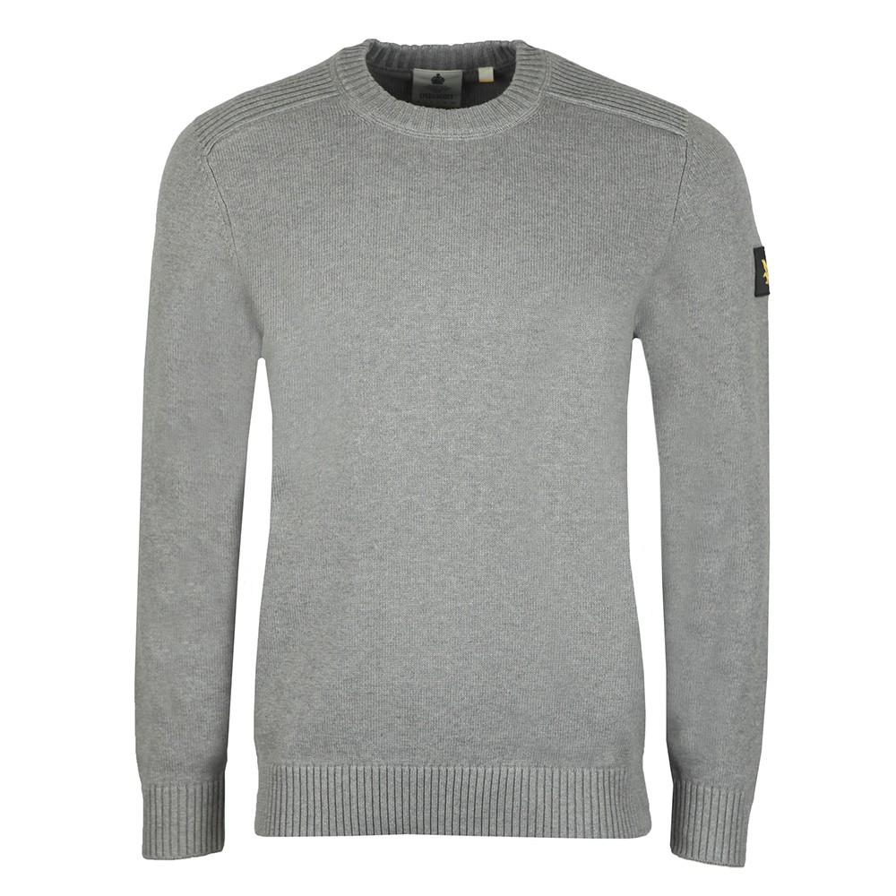 Shoulder Detail Crew Neck Knit Jumper main image