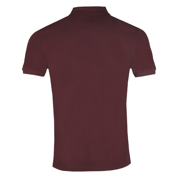 Lyle and Scott Mens Red Plain Polo Shirt main image