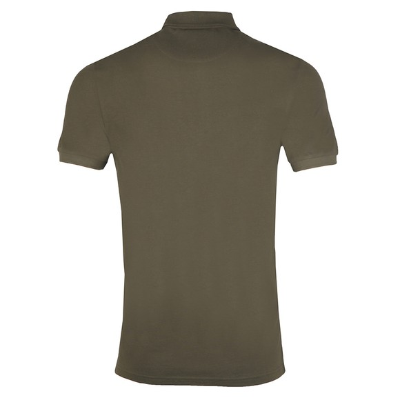 Lyle and Scott Mens Green Plain Polo Shirt main image