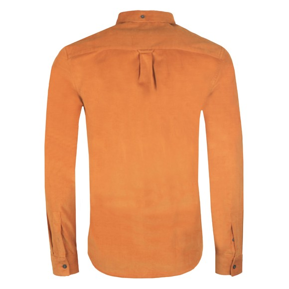Lyle and Scott Mens Brown Needle Cord Shirt main image
