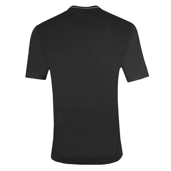 Lyle and Scott Mens Black Branded Ringer T-Shirt main image