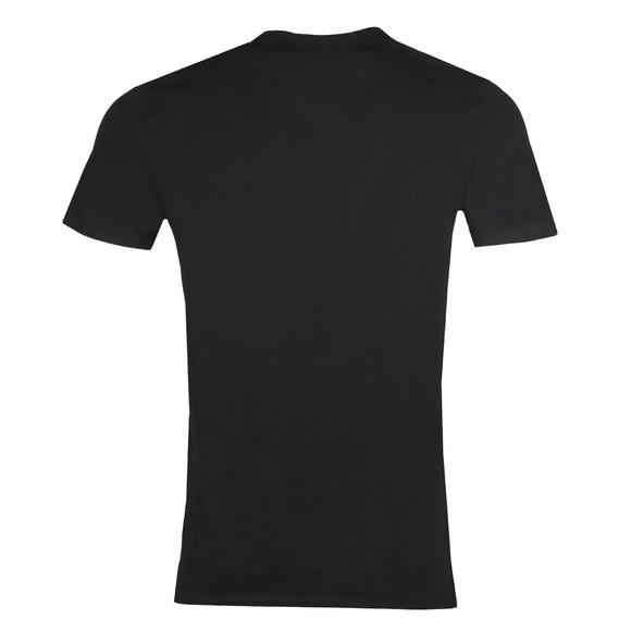 Vivienne Westwood Mens Black Small Logo Jersey T Shirt main image