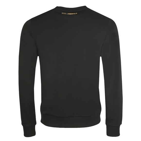 Karl Lagerfeld Mens Black Karl Logo Sweatshirt main image