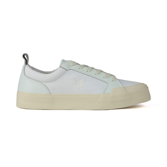 Lyle and Scott Mens White Est 1874 Trainers