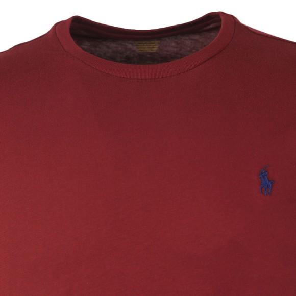 Polo Ralph Lauren Mens Purple Custom Slim Fit T-Shirt