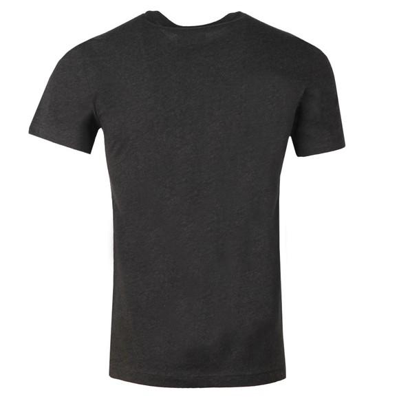 Lacoste Mens Grey TH2038 Plain T-Shirt main image
