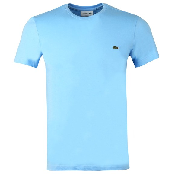 Lacoste Mens Baby Bleu HBP TH2038 Plain T-Shirt