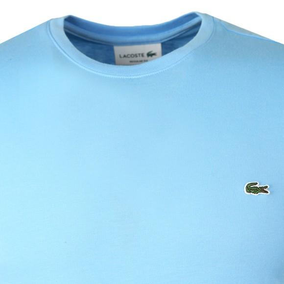 Lacoste Mens Baby Bleu HBP TH2038 Plain T-Shirt