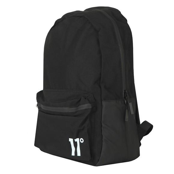 Eleven Degrees Mens Black Core Backpack